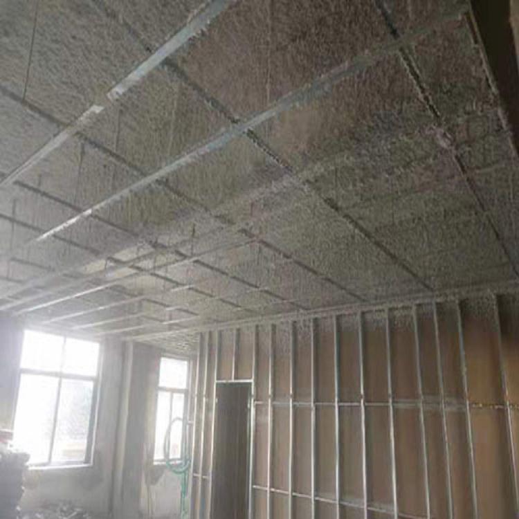 南京 KTV吸音矿物棉喷涂
