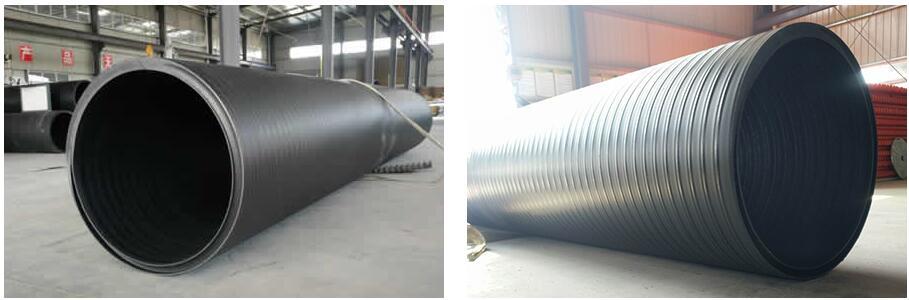 中空壁缠绕管 市政排污管 惠升管业缠绕管 厂家直销