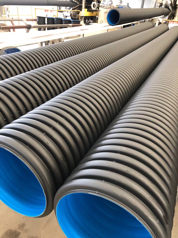 HDPE双壁波纹管  厂家直销 大口径排污塑料波纹管 HDPE波纹管