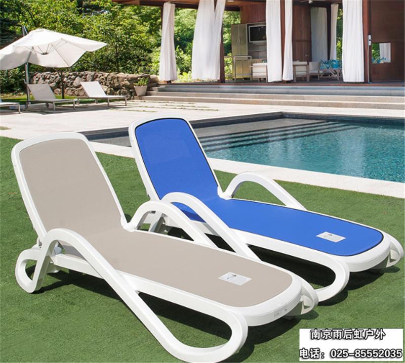 酒店躺椅户外躺床 1件起订 海边游泳池躺椅