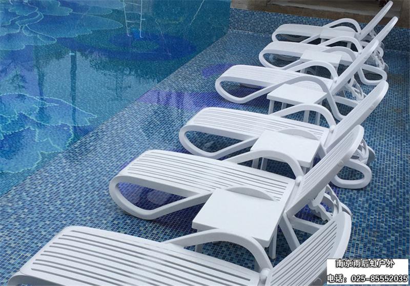 海边游泳池躺椅 休闲沙滩椅 1件起订