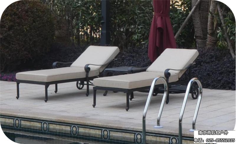 阳台庭院太阳床 1件起订 酒店躺椅户外躺床
