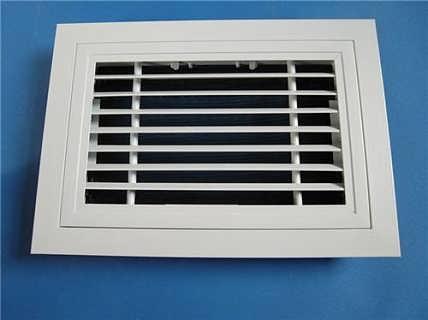厂家直销 门铰式回风口 可开式格栅风口  空调设备排风口