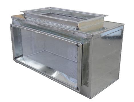 厂家直销 静压箱 加工定制 空调通风系统加工定制 消声静压箱 消声器