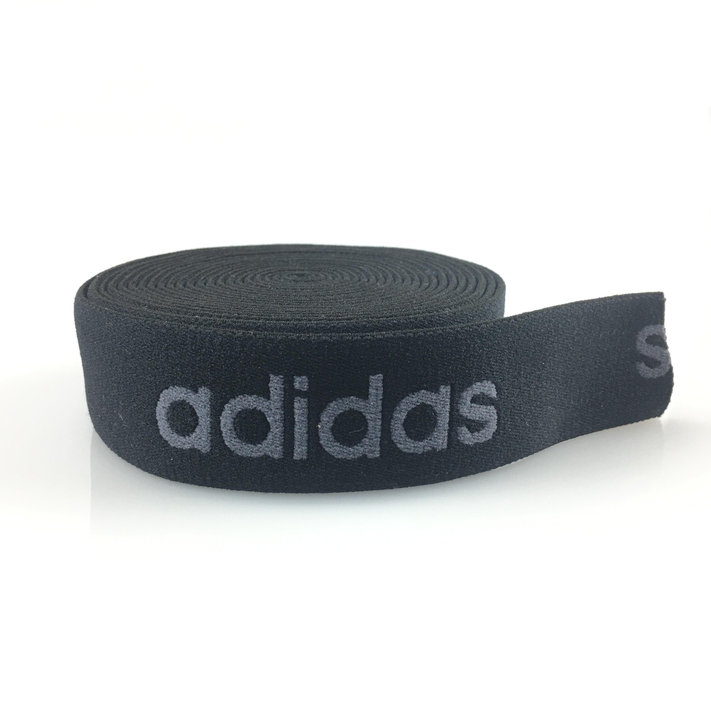 专业定制优质织带 耐高温耐磨 黑色阿迪织带