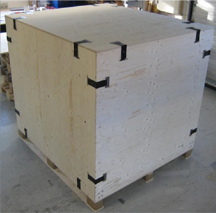 可循环使用木箱 钢带箱 卡扣箱  专业生产与制作