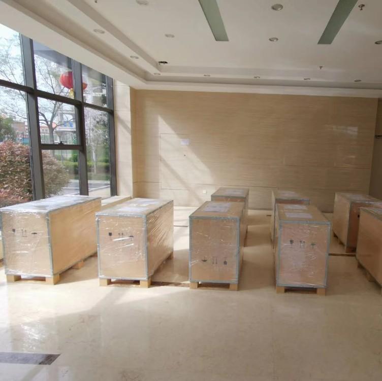 亮越 厂家直销钢带木箱 出口包装箱 免熏蒸木箱 价格合理