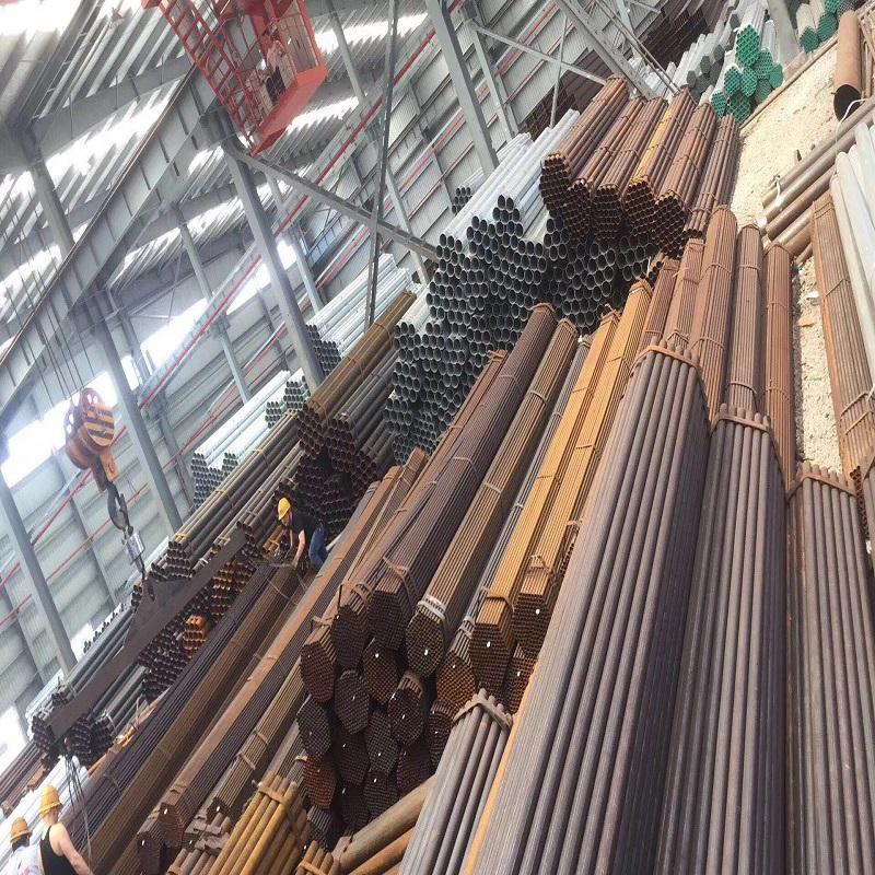 【好物优选】焊管 杭州Q195直缝焊管厂家批发1.5寸*3.25mm 质量保障 经济实惠 厂家直销