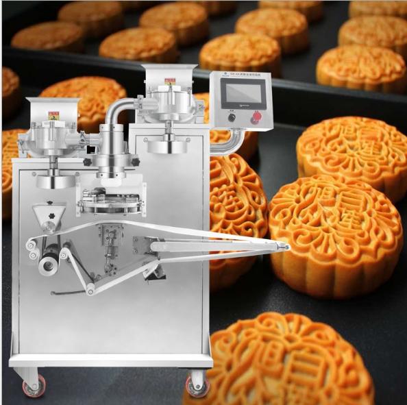 厂家直销旭众做月饼的机器 多功能自动包馅机 月饼机生产线