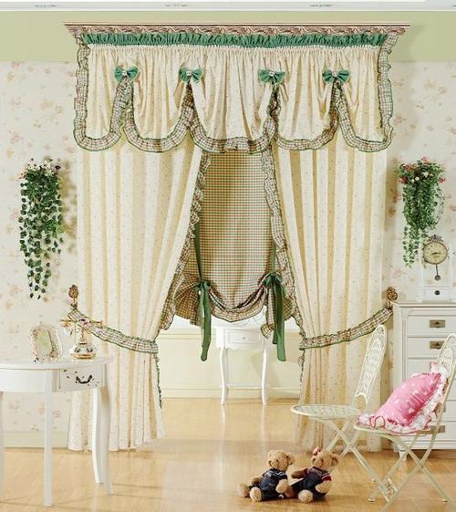 布窗帘 室内遮光布窗帘定制 卧室遮光布窗帘