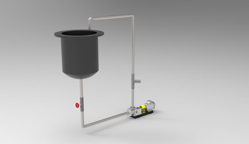 凸轮转子泵凸轮式双转子泵