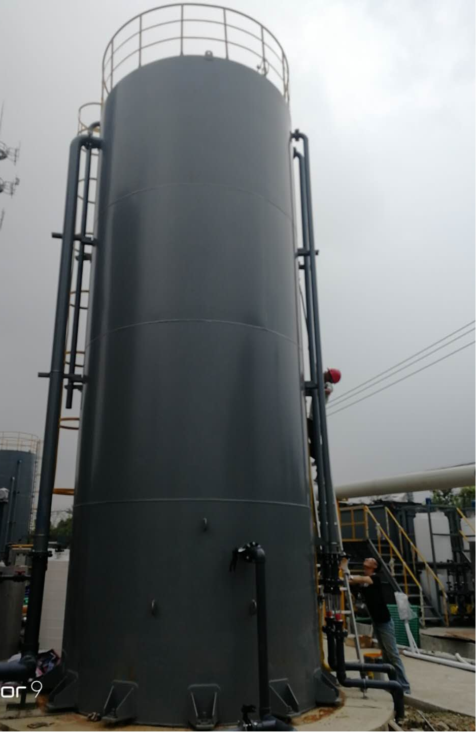 总氮一体化设备 脱氮设备 ACR复合高效脱氮塔