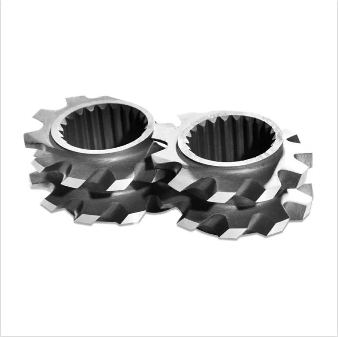 厂家直销 双螺杆配件 筒体 螺纹元件配件 筒体双螺杆配件机 筒体价格
