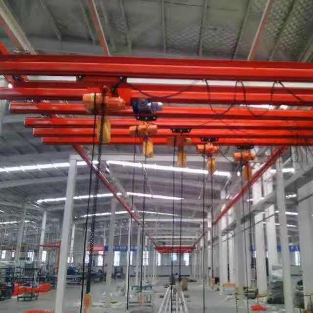 厂家直销组合悬挂KBK柔性起重机 车间厂房轨道吊装起重机
