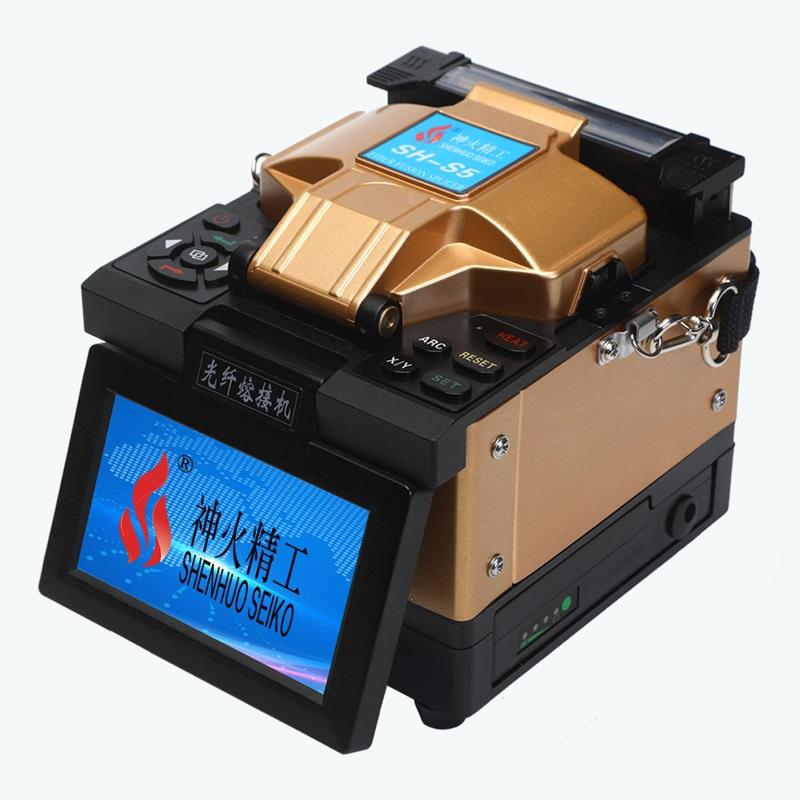 全自动光纤熔接机 多功能光纤熔接机 光纤溶接机 神火精工