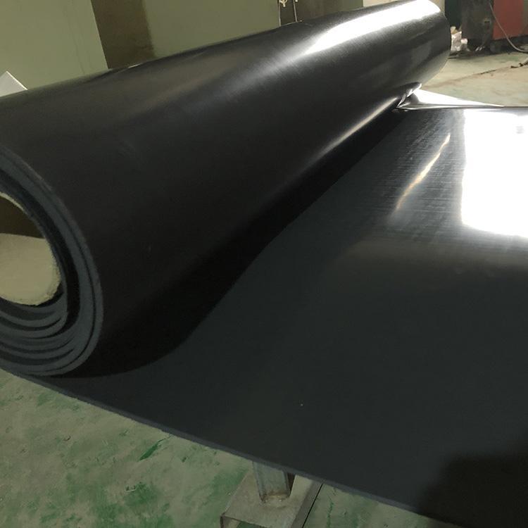 黑色氟胶板 震高压胶垫 耐磨耐高温耐酸碱橡胶卷板