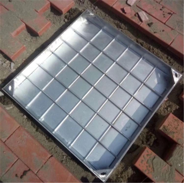 不锈钢方形井盖厂家批发  不锈钢井盖加工 不锈钢圆形井盖