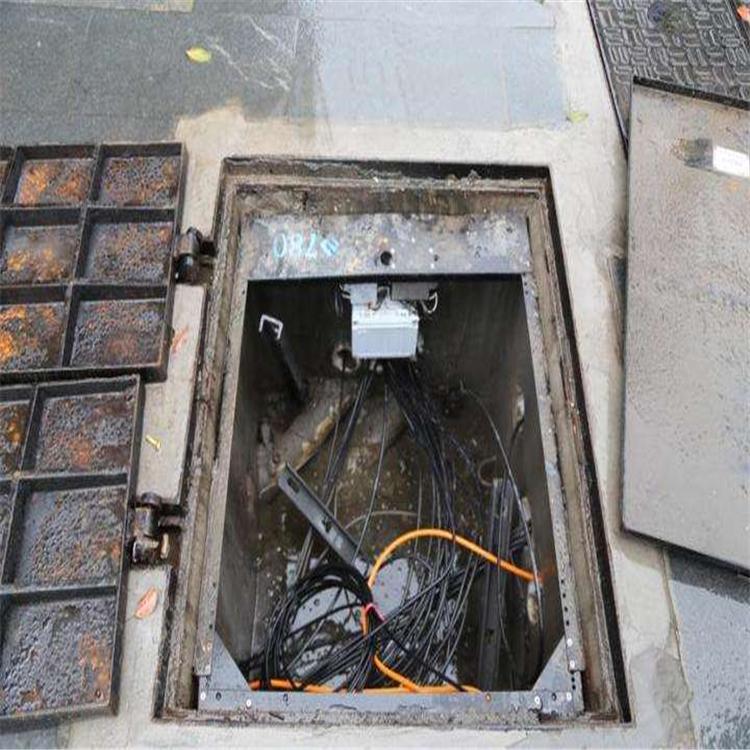 智能井盖报警器   窨井水位监控器   井盖液面监控器   下水井水位预警 来图定制