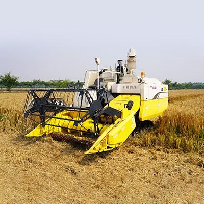 柴油大马力履带式小麦水稻收割机 丰疆智能全喂入联合收割机   全自动无人化智能平地联合收割机  大马力多功能高效收割机生产厂家