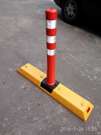 交通停车位车轮挡车器 实心拦车器分道体 工厂直销