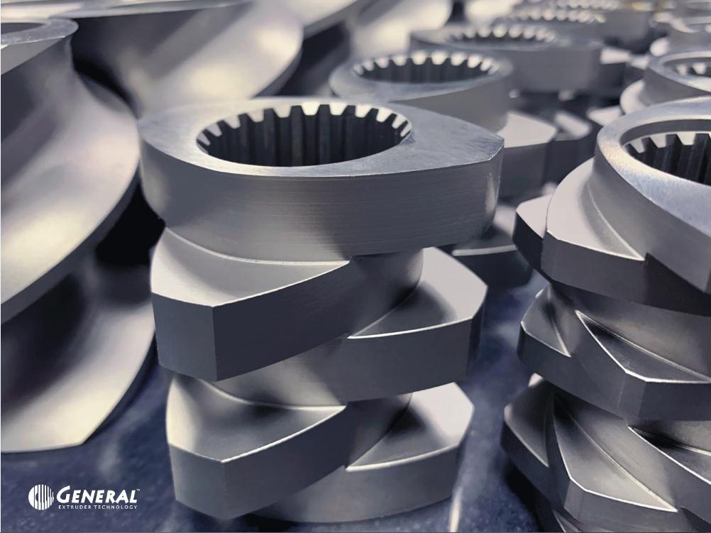 无锡螺纹块 螺纹元件 螺纹元件厂家 捏合块 挤出机配件