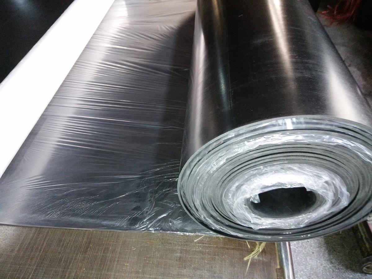 厂家阻燃橡胶板垫片  耐高温黑色配电室10kv绝缘胶垫离火自熄定制