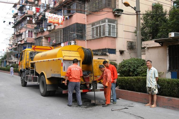 管道清淤 污水处理