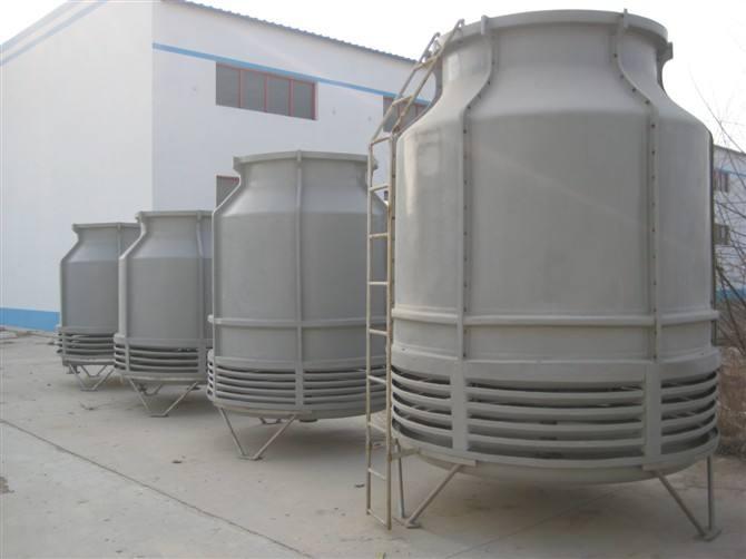 方形逆流式玻璃钢冷却塔 电池配酸制水厂房配套玻璃钢冷却塔直销