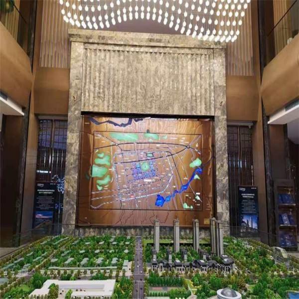 沙盘壁挂  区位图模型  沙盘模型    建筑模型