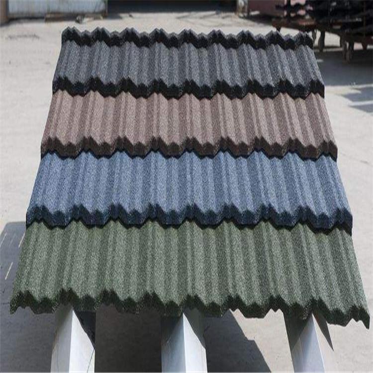 金属瓦 彩石金属瓦 金属彩石瓦 千驽建材彩石金属瓦厂家直销