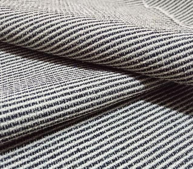 米色织提花丝棉绸 丝棉交织布 服装面料