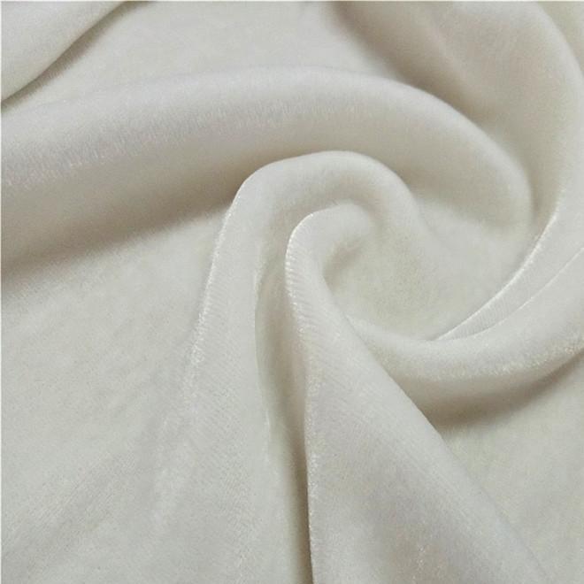 45梭真丝丝绒 全真丝底布粘胶绒 140cm门幅 秋冬 服装丝绒面料
