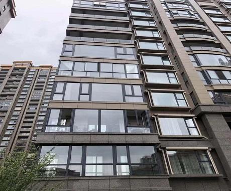 断桥铝合金门窗 封阳台铝合金隔音门窗 铝合金阳光房平开窗 规格全