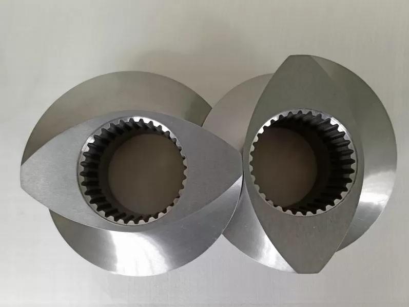 南京杰德瑞双螺杆膨化机螺杆螺套螺纹元件