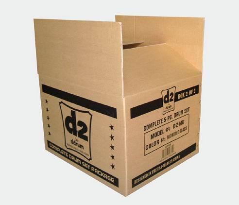 各类瓦楞彩盒包装纸盒 瓦楞飞机盒