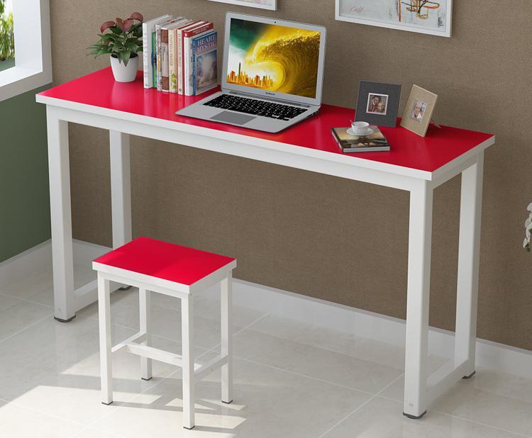 彩色培训桌-学校辅导培训班美术桌-中小学生课桌椅