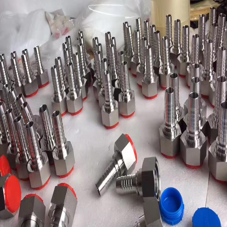 厂家直销不锈钢软管接头、扣押接头