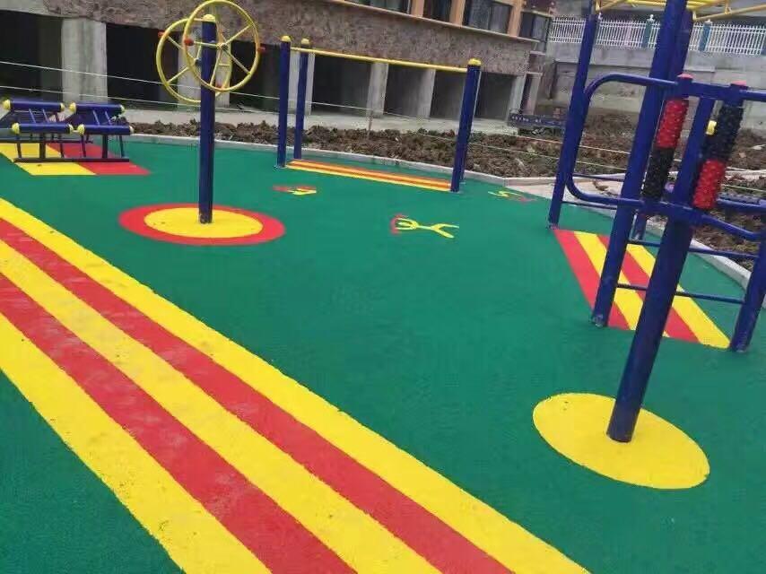 幼儿园EPDM塑胶跑道 塑胶跑道厂家