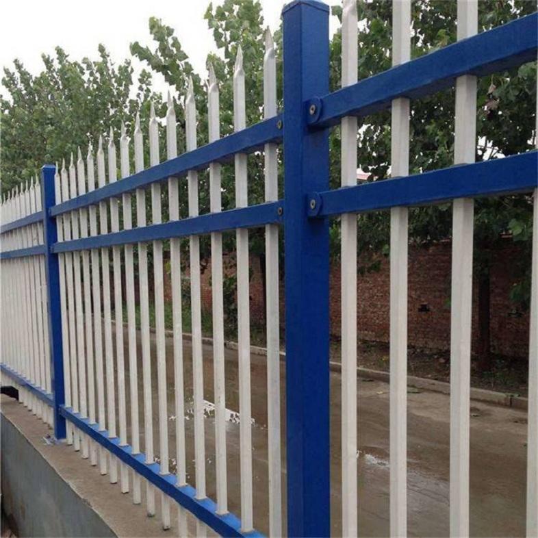 钢结构护栏 厂房隔离护栏 锌钢结构护栏