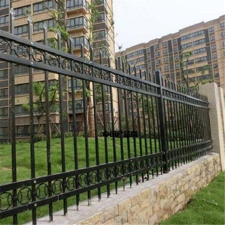 小区围墙锌钢护栏 可加工定制