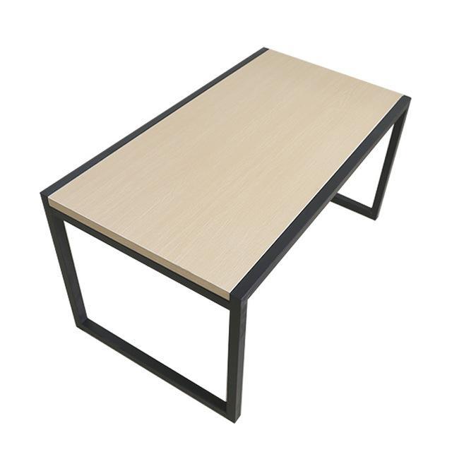 造梦工坊铁艺家具简易茶几铁艺家具铁艺现代简约桌子迷你铁艺板式柜公寓用茶几溢彩家具