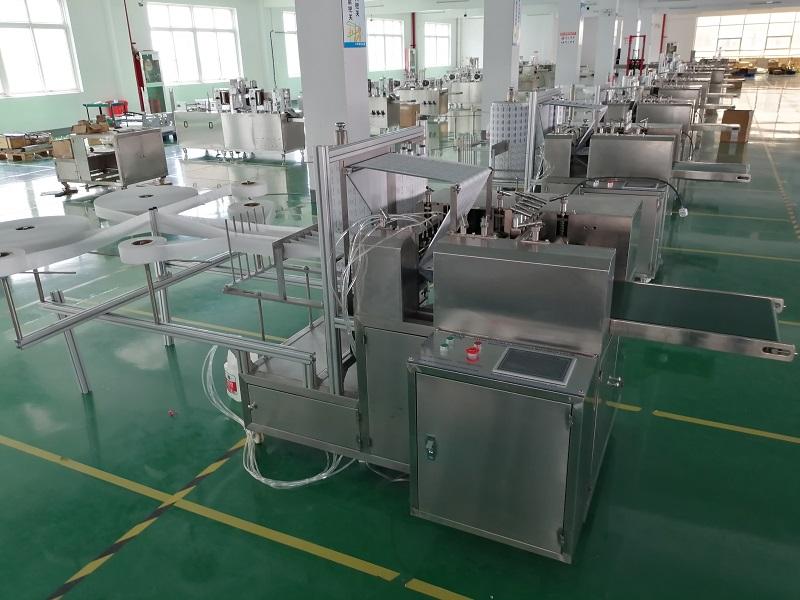ZMJ-AHT型  酒精棉片包装机