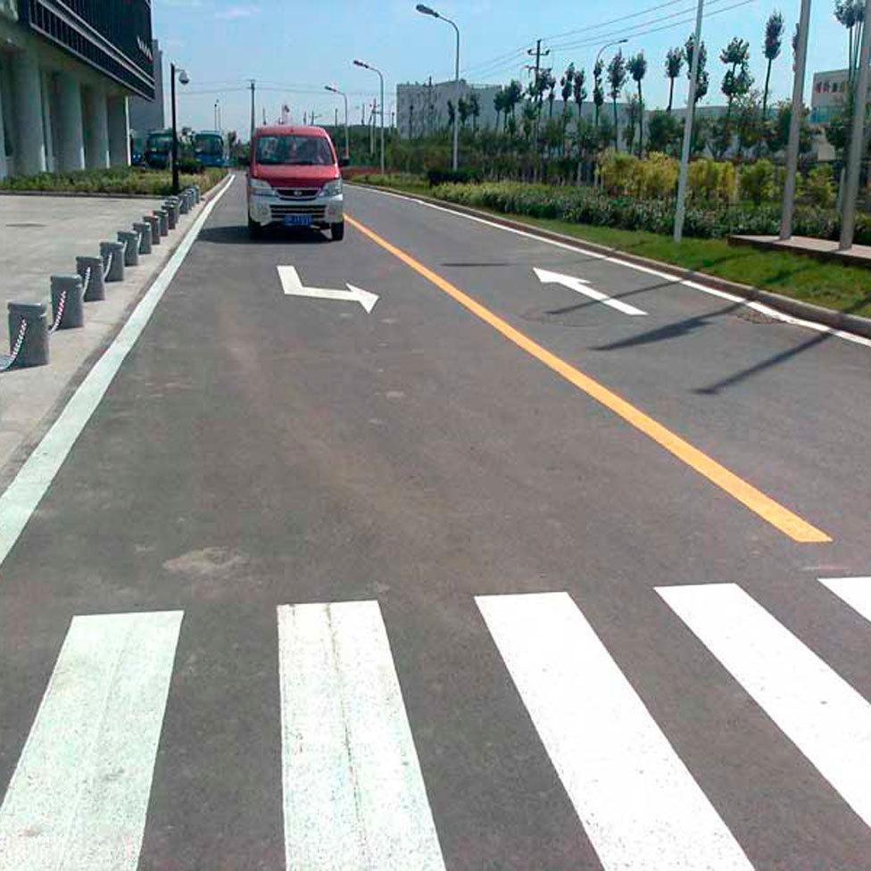 南通道路划线 道路划线施工方案