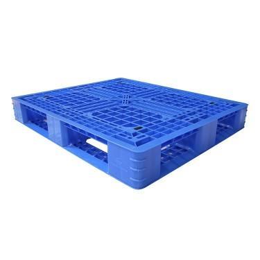厂家直销  二手川字塑料托盘批发 平板川字塑胶栈板厂家电话 春晨木业