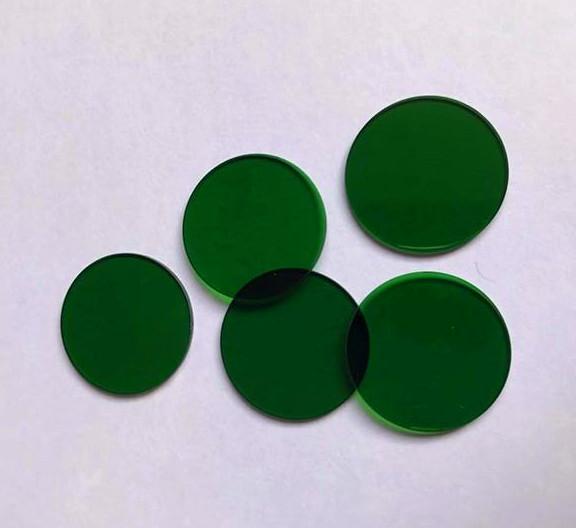 厂家直销  光学玻璃_绿色光学玻璃_选择吸收型玻璃_绿色玻璃批发_ 江苏向阳光学  欢迎咨询定制