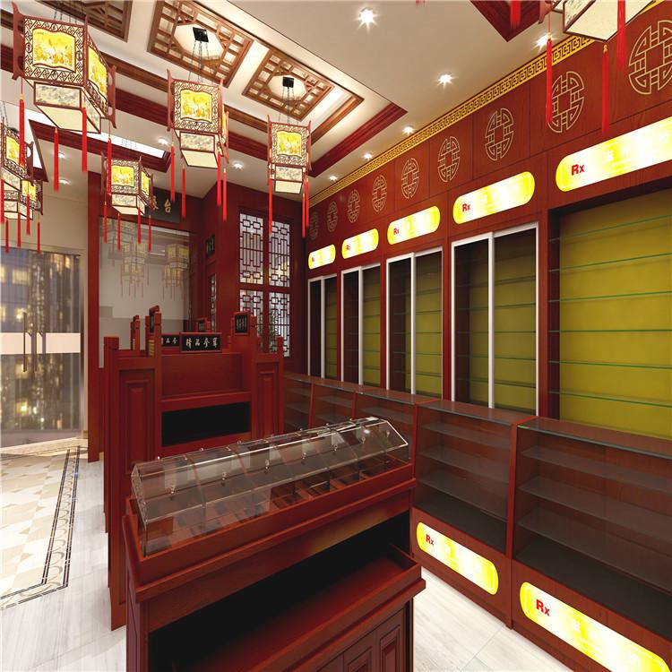 苏州药店展示柜生产定制