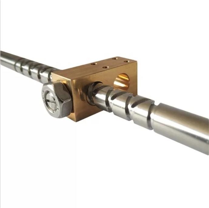 厂家提供螺杆 挤出机螺杆 规格多种 快速发货