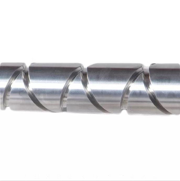 南京平行双螺杆挤出机螺杆 螺纹元件剪切块加工定做