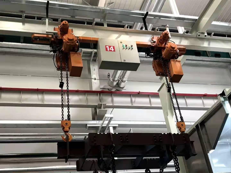 电动葫芦 单链 0.5吨*4米运行式 环链电葫芦 单链条电动提升机