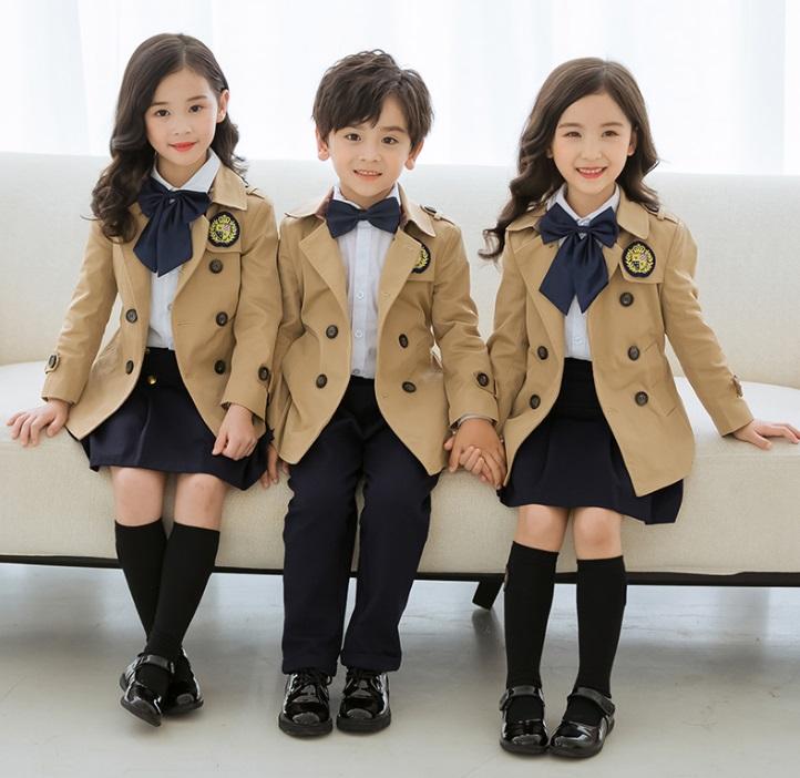玩酷熊幼儿园园服春秋装小学生校服套装儿童